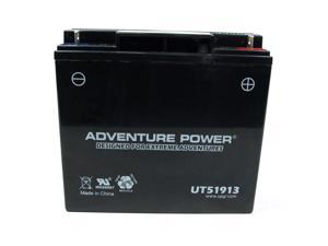 UPG Adventure Power 51913 Sealed AGM Power Sports Battery 42022
