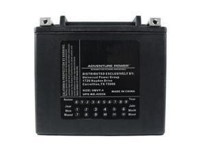 UPG Adventure Power UBVT-4 Sealed AGM V-Twin Power Sports Battery 42026