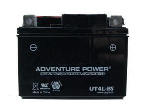 UPG Adventure Power UT4L-BS Dry Charge AGM Power Sports Battery 43002