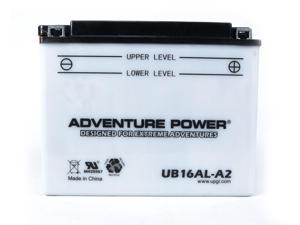 UPG Adventure Power UB16AL-A2 Conventional Power Sports Battery 42531