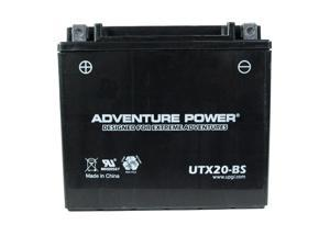 UPG Adventure Power UTX20-BS Dry Charge AGM Power Sports Battery 43030