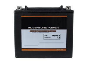 UPG Adventure Power UBVT-1 Sealed AGM V-Twin Power Sports Battery 42023