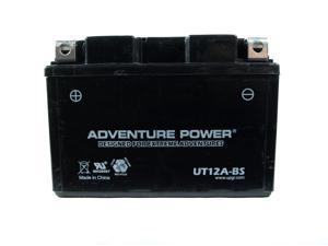UPG Adventure Power UT12A-BS Dry Charge AGM Power Sports Battery 43020