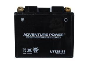 UPG Adventure Power UT12B-BS Dry Charge AGM Power Sports Battery 43021