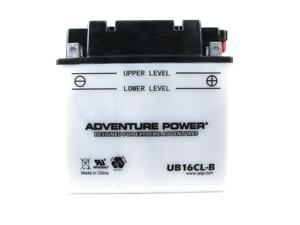 UPG Adventure Power UB16CL-B Conventional Power Sports Battery 42004