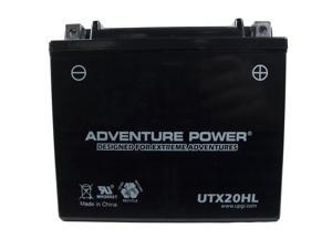 UPG Adventure Power UTX20HL Sealed AGM Power Sports Battery 42052