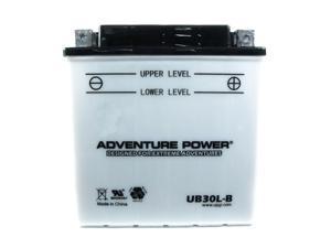 UPG Adventure Power UB30L-B Conventional Power Sports Battery 42542