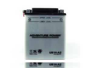 UPG Adventure Power UB14-A2 Conventional Power Sports Battery 42523