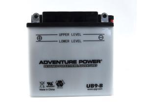 UPG Adventure Power UB9-B Conventional Power Sports Battery 42511