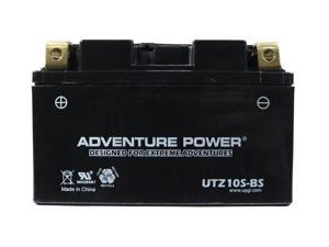 UPG Adventure Power UTZ10S-BS Dry Charge AGM Power Sports Battery 43019