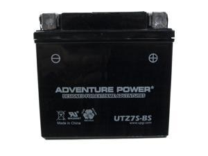 UPG Adventure Power UTZ7S-BS Dry Charge AGM Power Sports Battery 43014