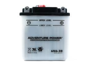 UPG Adventure Power 6N6-3B Conventional Power Sports Battery 41520