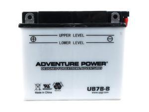 UPG Adventure Power UB7B-B Conventional Power Sports Battery 42507