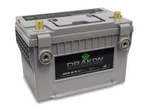UPG Drakon BCI Group 34/78 Premium Automotive Battery 40884