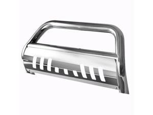 Spyder Auto Ford F250/350/450/550HD 99-04 / Superduty 99-04 - 3 Inch Bull Bar T-304 Stainless Steel - Polished 5025234
