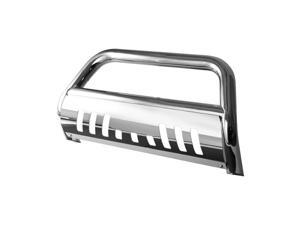 Spyder Auto Chevy Silverado 07-10 1500LD - 3 Inch Bull Bar T-304 Stainless Steel - Polished 5025142