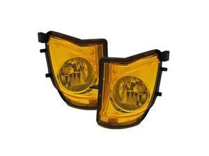 Spyder Auto Lexus IS250/IS350 06-09 OEM Fog Lights (No Switch) - Yellow 5075185