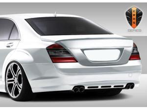 2007-2009 Mercedes Benz S Class W221 Eros Version 1 Rear Lip Spoiler (will not fit Sport or AMG Bumpers) 107791