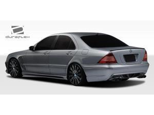 2000-2006 Mercedes Benz S Class W220 Duraflex W-2 Rear Bumper 107721