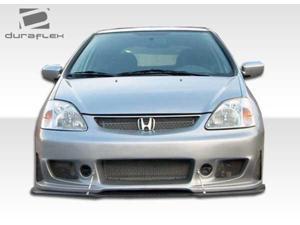 2002-2005 Honda Civic HB Duraflex B-2 Front Bumper 100347