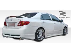 2009-2010 Toyota Corolla Duraflex Skylark Rear Bumper 104499