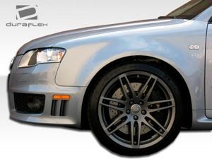 2006-2008 Audi A4 4DR Duraflex RS4 Wide Body Front Fenders 105320