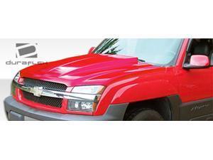 2002-2006 Chevrolet Avalanche (with body cladding) Duraflex Cowl Hood 103026