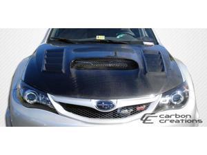 2008-2011 Subaru Impreza 2008-2012 WRX STI Duraflex GT Concept Hood 104656