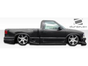 1994-2004 Chevrolet S-10 Sonoma Standard/Step Side Duraflex Drifter Side Skirts 101421