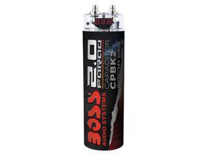 BOSS 2 Farad Capacitor Black CPBK2