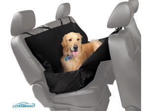 Coverking Pet Seat Cover ( Bucket & Bench ) Cordura Black SPC85