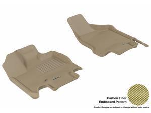 3D MAXpider Floor Mat DODGE GRAND CARAVAN 2008-2014 KAGU TAN R1 L1DG01611502