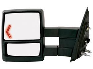 Fit System 04-12 FORD F-150 Replacement Mirror Each Left 61184F FO1320414