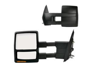 Fit System 04-12 FORD F-150 Replacement Mirror Pair 61185-86F FO1322102 7L3Z17682AE 7L3Z17683AE