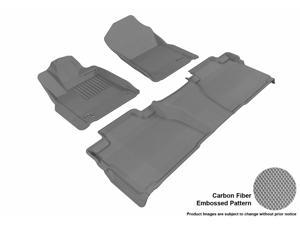 3D MAXpider L1TY15401501 TOYOTA TUNDRA 2014 DOUBLE CAB KAGU GRAY R1 R2