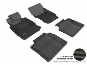 3D MAXpider L1IN01501509 INFINITI M37 2011-2013 KAGU BLACK R1 R2