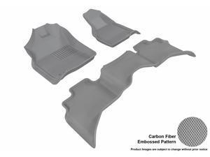 3D MAXpider L1DG01901501 DODGE RAM 1500 QUAD CAB 2012-2014 KAGU GRAY R1 R2 (2 EYELETS)