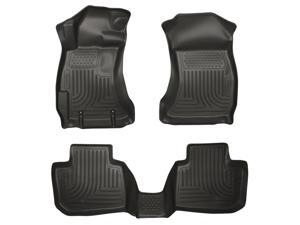 Husky Liners Weatherbeater Series Front & 2Nd Seat Floor Liners 99801 2012-2015  Subaru Impreza
