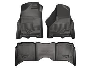Husky Liners Weatherbeater Series Front & 2Nd Seat Floor Liners 99001 2009-2010  Dodge Ram 1500