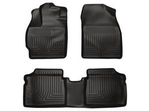 Husky Liners Weatherbeater Series Front & 2Nd Seat Floor Liners 98921 2010-2014  Toyota Prius