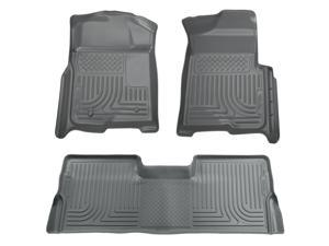 Husky Liners Weatherbeater Series Front & 2Nd Seat Floor Liners 98382 2008-2010  Ford F-250 Super Duty