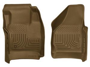 Husky Liners Weatherbeater Series Front Floor Liners 18383 2008-2010  Ford F-250 Super Duty