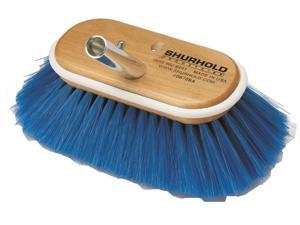 "Shurhold 10"" Deck Brush EXTRA SOFT blue nylon 975"