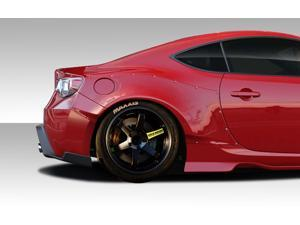 2013-2014 Scion FR-S BRZ Duraflex GT500 Wide Body Rear Fenders - 4 Piece