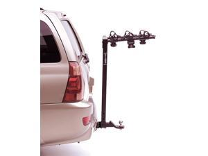 "Hollywood Racks HR135 Tow'n Go three Bike Rack for 2"" Hitch while towing a trailer"