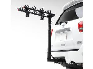 "Hollywood Racks HR8000 Traveler four Bike Rack for 2"" Hitch"