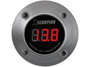 XSCORPION VOLTMETER DIGITAL 3 DIGIT LED DISPLAY SILVER DVM3RS
