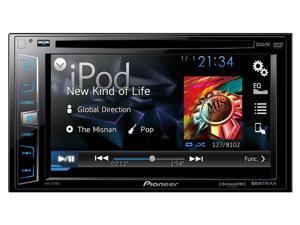 "Pioneer DDIN DVD receiver  6.2"" Sirius Maestro AVHX1700S"