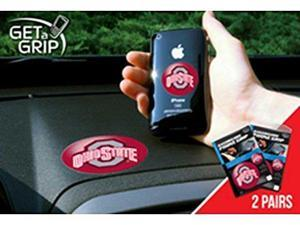 Fanmats 13053 COL - small 1.5 in.  - large 3 in.  - Ohio State University Get a Grip 2 Pack