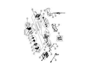 Warn Service Parts S/P_Drum Support Kit_Vr10/12 92077